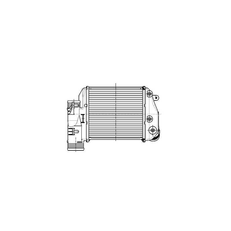 Intercooler 4F0145806E